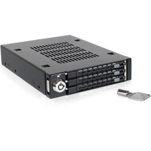Icy Dock ToughArmor Triple Bay 2.5 HDD/SSD Mobile Rack, 3.5 Front Device Bay