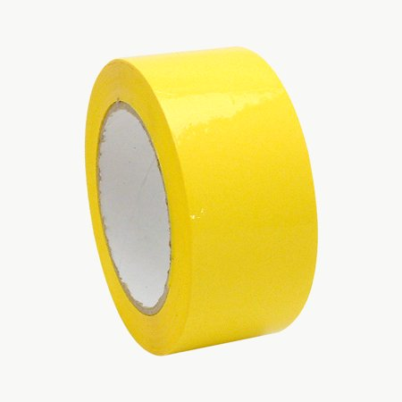 JVCC OPP-20C Economy Grade Colored Packaging Tape: 2 in. x 110 yds. (Yellow)