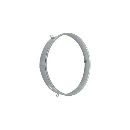 Eckler's Premier  Products 25-304485 - Corvette Retaining Ring Headlamp Seal Beam Stainless Steel