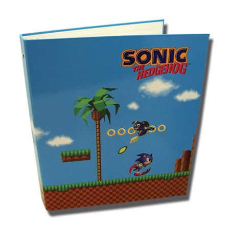 Classic Sonic Green Hill Zone Binder