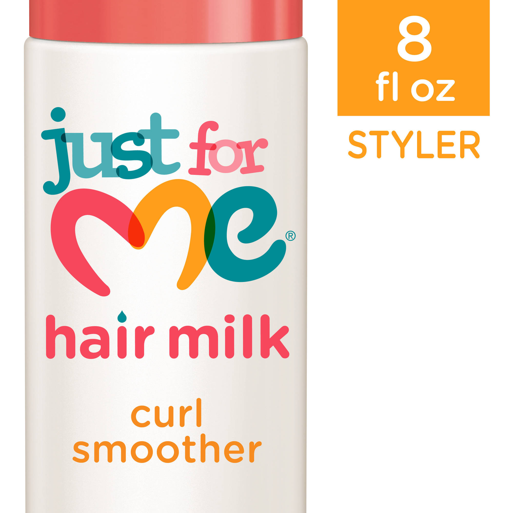 Just For Me Hair Milk Curl Smoother Hair Styler, 8 oz