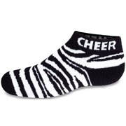 Chassé Women's Animal Print Low Anklet Cheer Socks