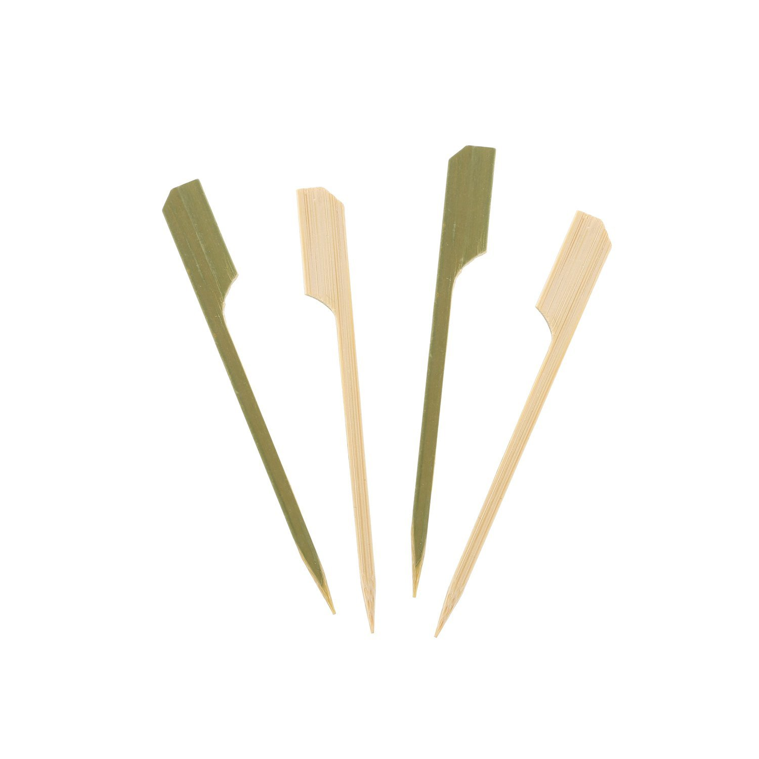 """3.5"""" Bamboo Paddle Pick, Package of 1000, STYLISH AND PRA..."""