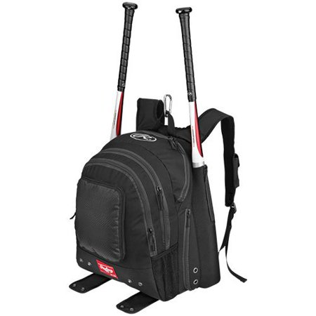 Rawlings Carrying Case [backpack] For Baseball Bat - Black (bkpkb) Sports Gear