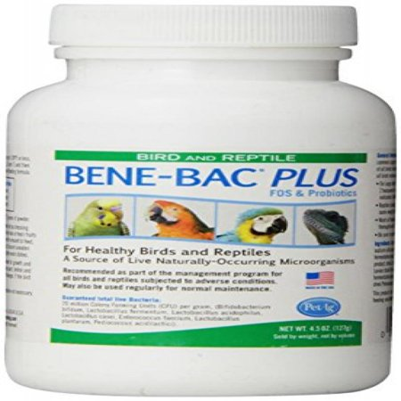 Bene Bac  Bird   Reptile Powder  4 5Oz