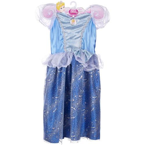Disney Princess Sparkle Blue Dress Cinderella 4-6X by Generic