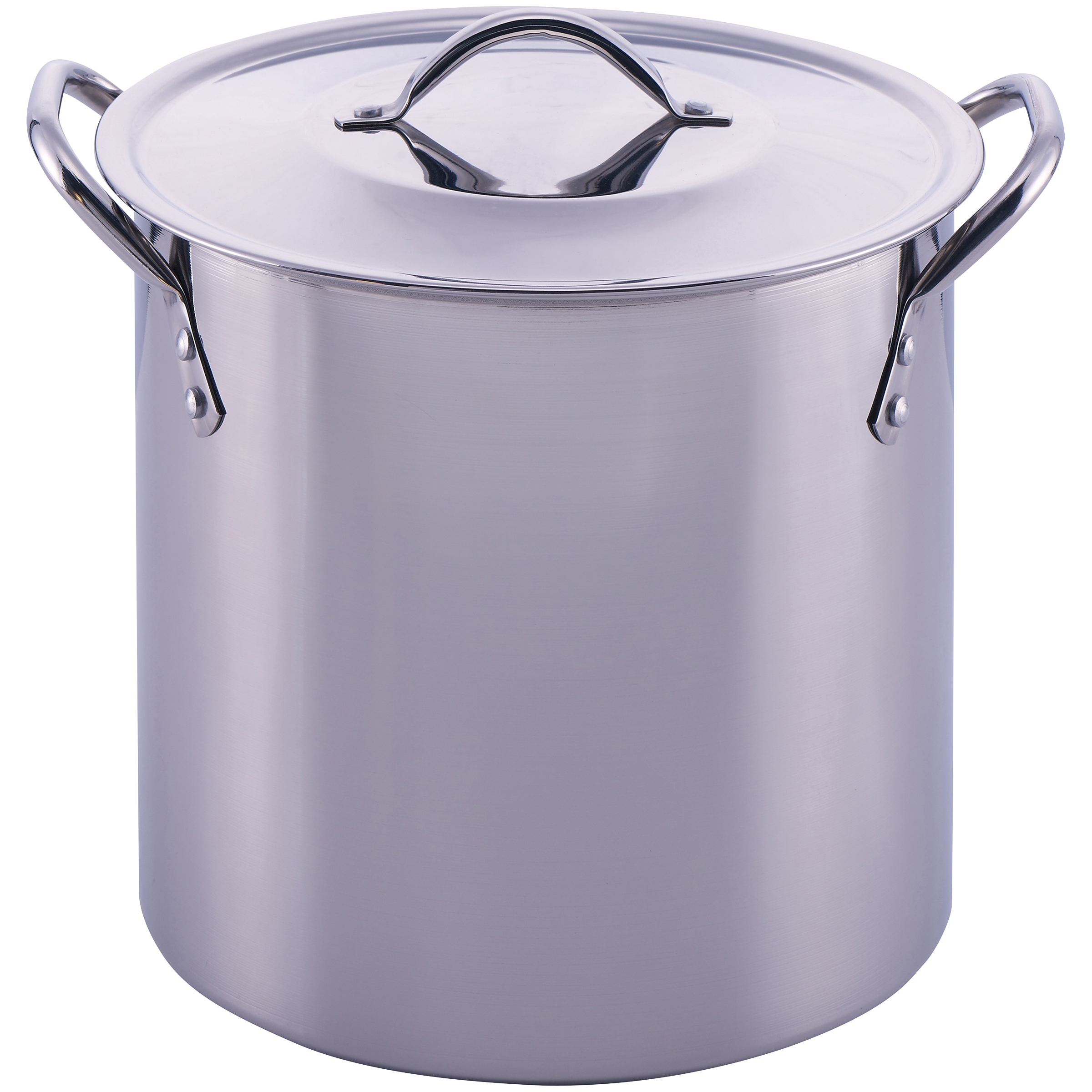 Mainstays 8 Quart Stock Pot with Lid, Stainless Steel