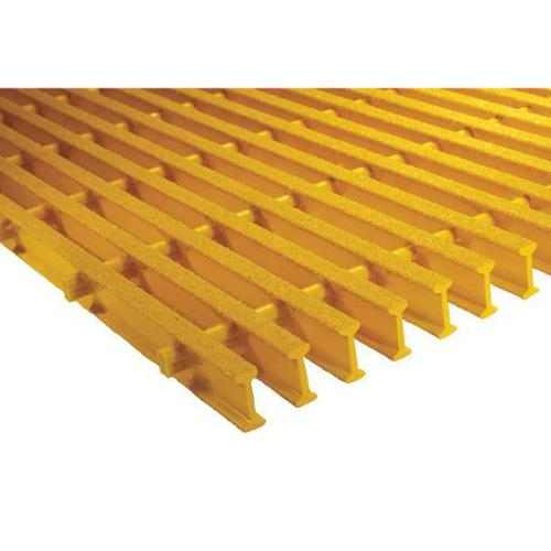 SAFE-T-SPAN 872500 Industrial Pultruded Grating,Span 6 ft.
