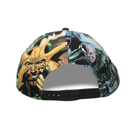 Bioworld Licensed Sinister Six - Spiderman All Over Sublimated Snapback Hat - image 2 de 5