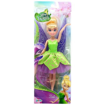 Disney Pixie Hollow Tink Doll [Green Dress]