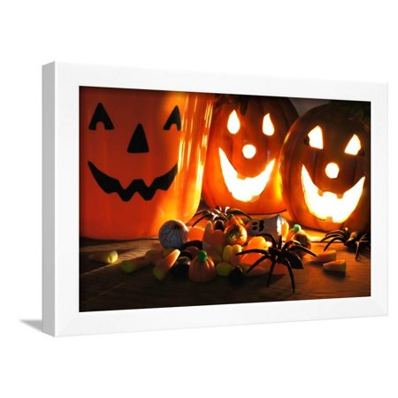 Halloween Treats Framed Print Wall Art By Jeni - Fotos De Trajes De Halloween