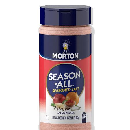 (2 Pack) Morton Season-All Seasoned Salt, 16