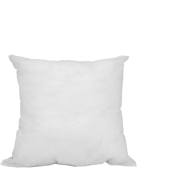 "Mybecca 18"" L X 18"" W Pillow Sham Stuffer White Square Hypoallergenic Pillow... by Mybecca"