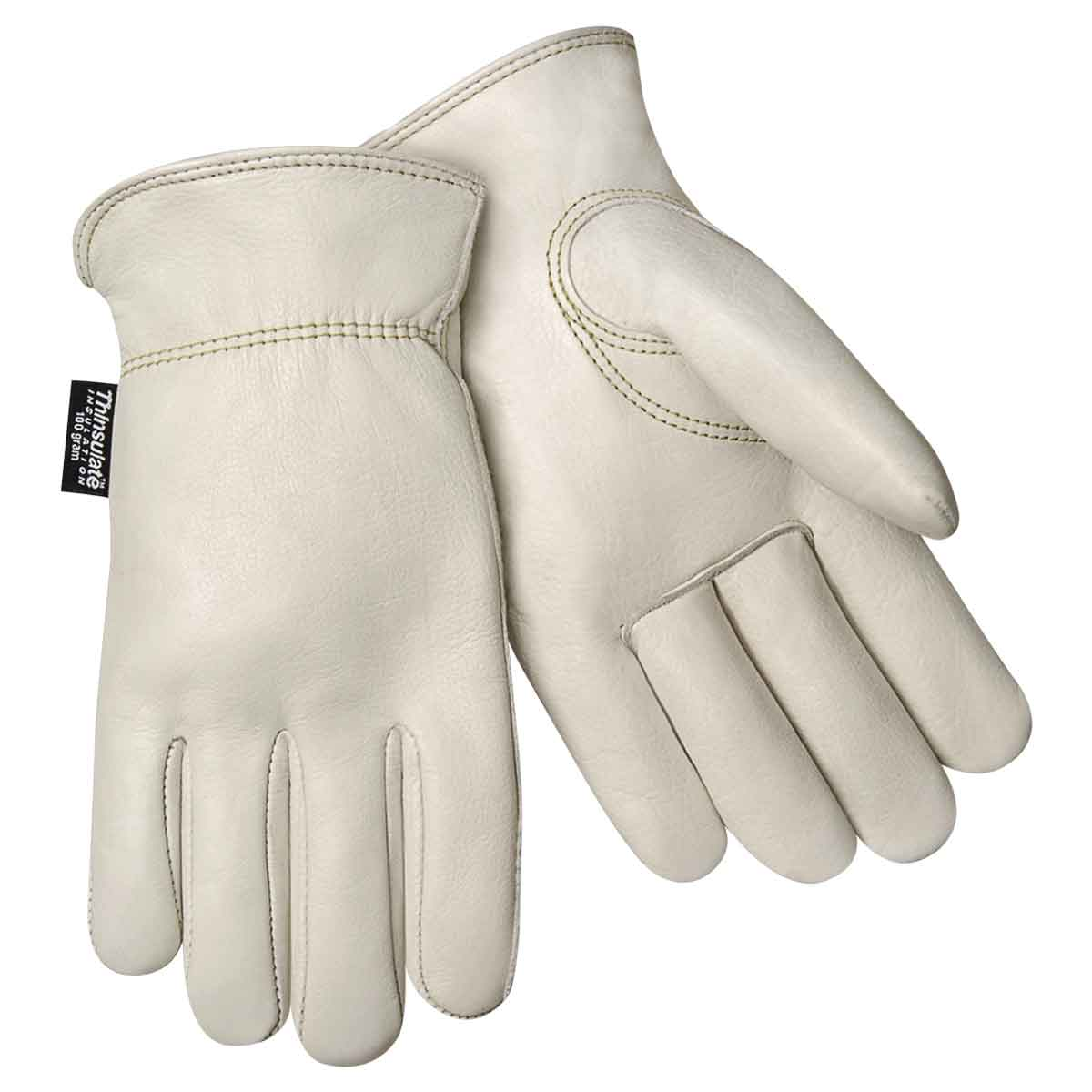 Steiner 0240T Premium Grain Cowhide Winter Gloves, Thinsulate Insulated Lining, X-Large by Steiner