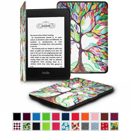 Fintie SlimShell Case for Amazon Kindle Paperwhite Gen Prior to 2018, Not  Fit All-new Paperwhite 10th Gen, Love Tree