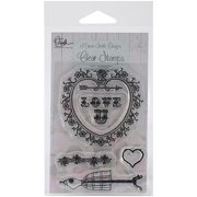 Marion Smith Designs Clear Stamps 3inX4in-Love U