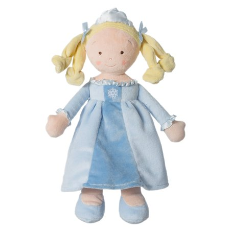 Little Princess Snowflake Doll, Made of soft velour with satin accents By North American Bear Ship from (Velour Satin)