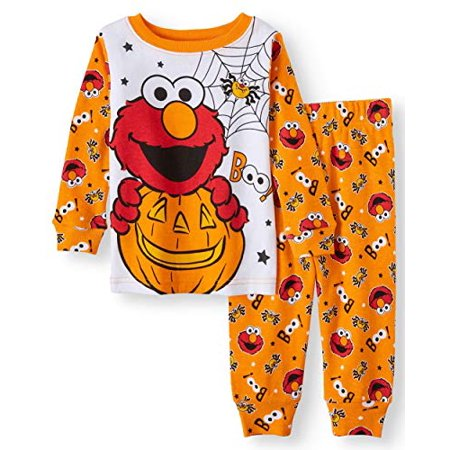 Elmo Unisex Baby Holiday Halloween 2pc Pajamas (9m)](Elmo Christmas Pajamas)