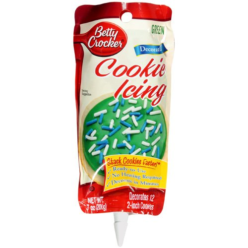 Betty Crocker Cookie Icing, Green