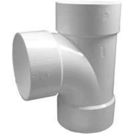 71160 Hub Dwv Sanitary Tee 6 In. - image 1 of 1