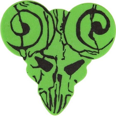 Clayton Thin Picks (Clayton TDM-6 Functional Pick Guitar Picks, Green - Medium - 6 Pieces)