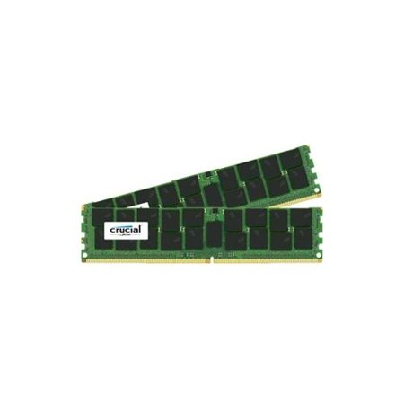 Crucial 64GB (2x32GB) DDR4 2133MHz 1 2V ECC 288-pin LRDIMM Memory Modules