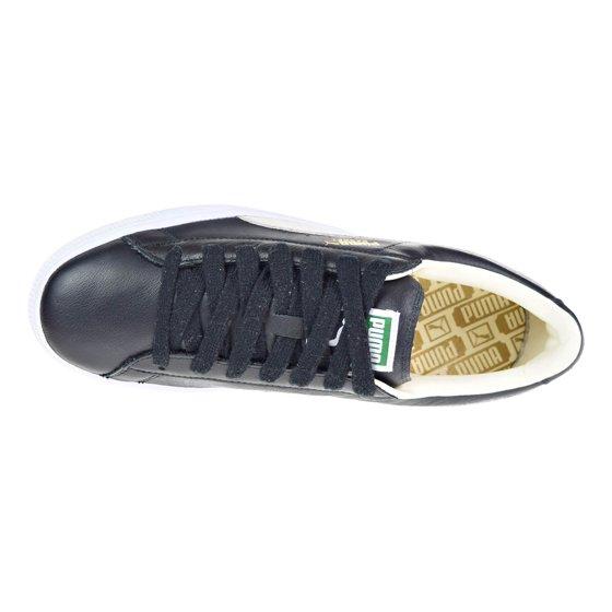 PUMA - Puma Basket Classic Men s Shoes Black White 351912-02 - Walmart.com 01dc0d3aa
