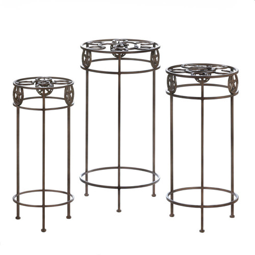 Zingz & Thingz 3 Piece Plant Stand Set