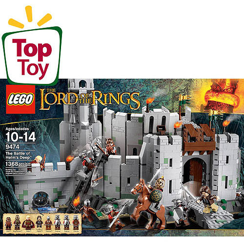 LEGO Lord of the Rings The Battle of Helms Deep Play Set