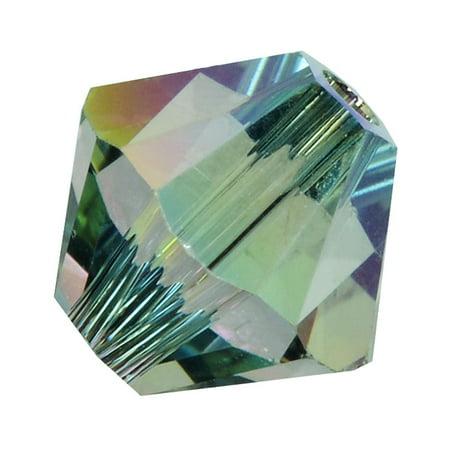 Swarovski Crystal, #5328 Bicone Beads 4mm, 24 Pieces, Crystal Paradise Shine