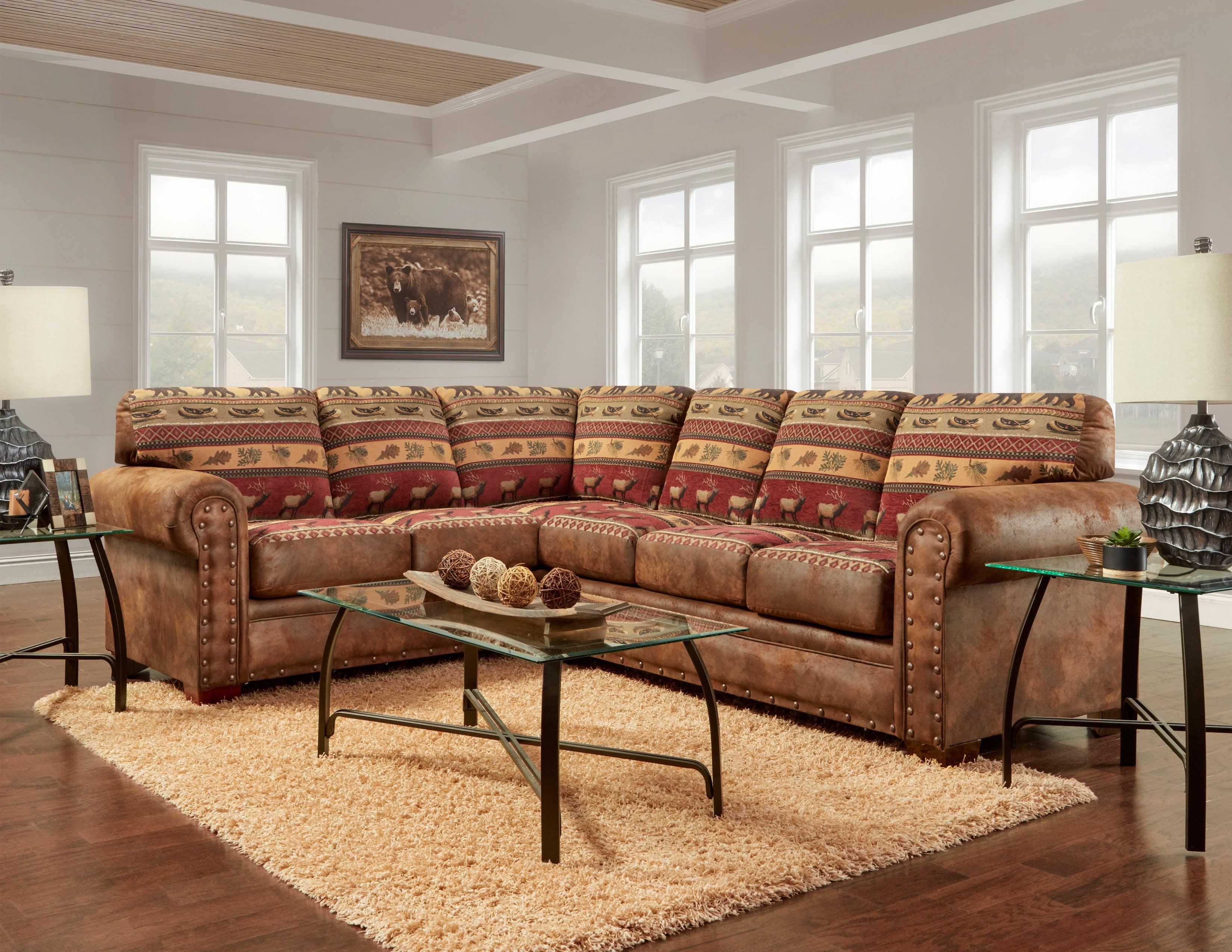 American Furniture Classics Model B1650k Sierra Lodge Two Piece