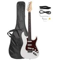 Ktaxon New Electric Guitar +Strap +Cord +Gig Bag +Picks for Beginner