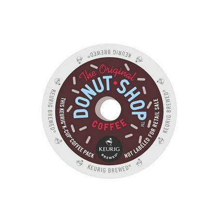 Coffee People Donut Shop Coffee, Regular Medium Roast, K-Cup Portion Count for Keurig Brewers 24-Count (Pack of 4) ()