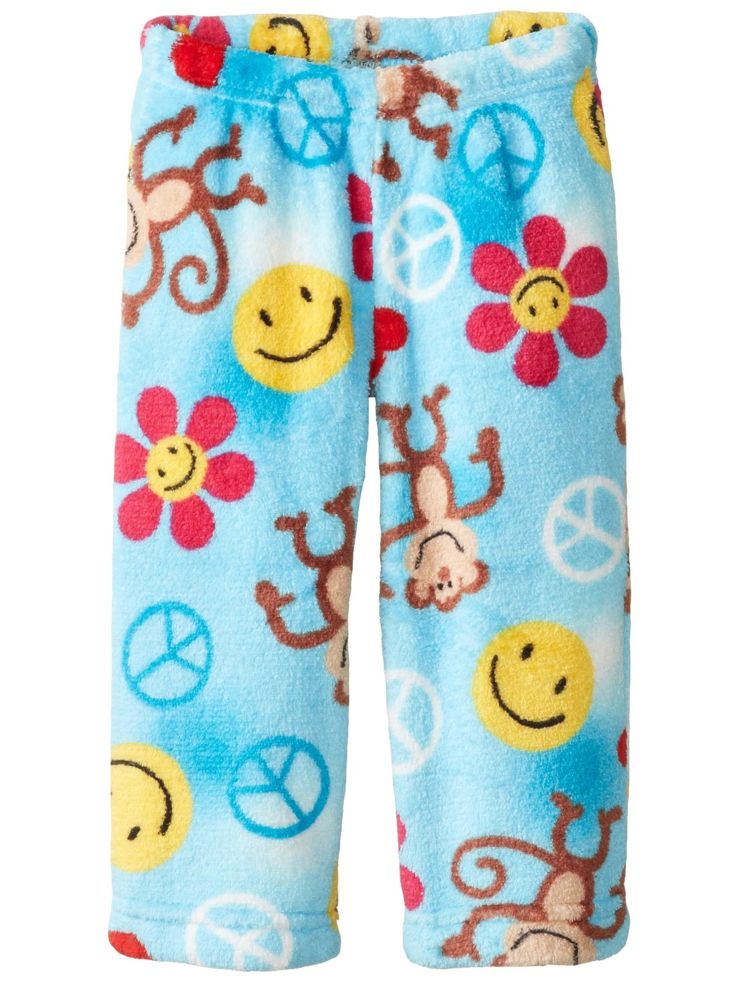 Up Past 8 Big Girls'  Fuzzy Pajama Pant