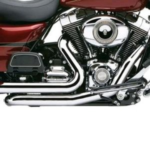 Cobra Powerport Head Pipes Chrome Fits 2009 Harley-Davids...