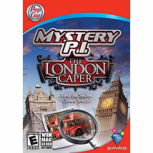 Mystery P.I. The London Caper (PC) (Digital Code)