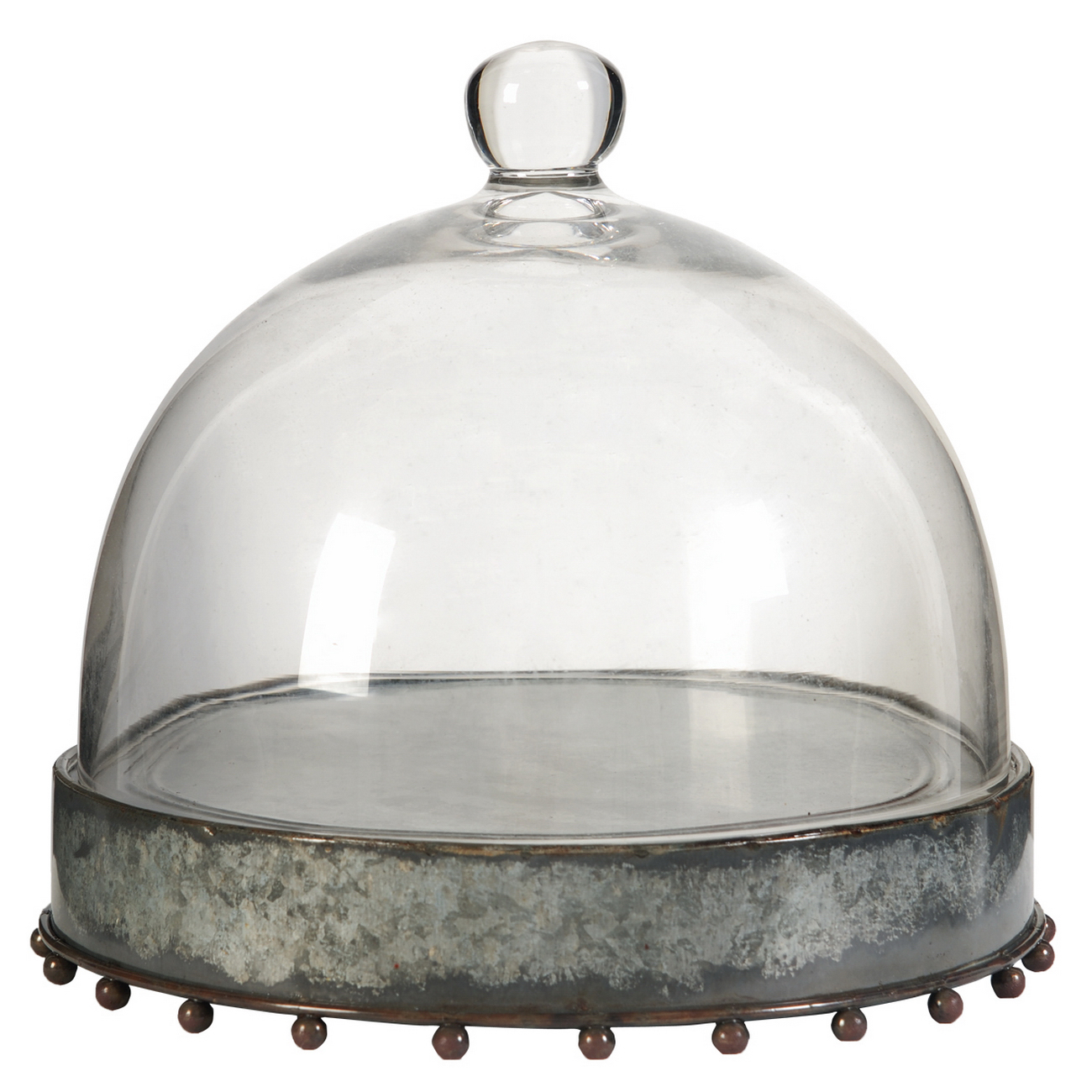 Glass Cake Dome with No Stand