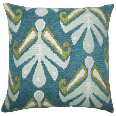 Brayden Studio Jada Donoho Ikat Floor Pillow (R50 Floor)