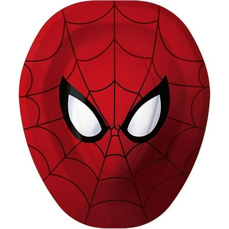 Hallmark Party Spider-Man Dinner Plates