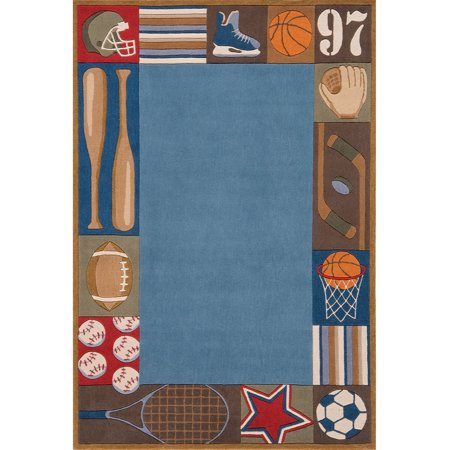 Momeni Lil Mo Whimsy All Star Area Rug