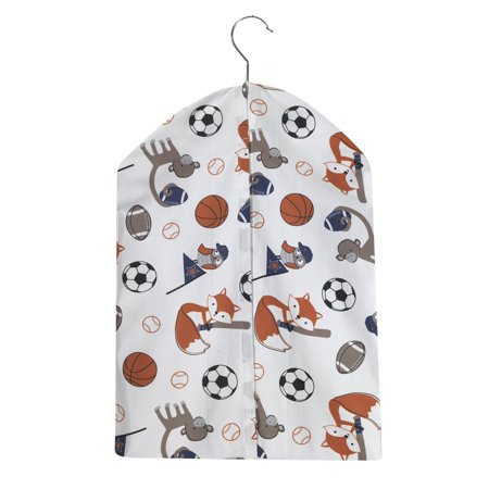 Collection Baby Diaper Stacker - BedTime Originals Baby League Sports Animal Diaper Stacker