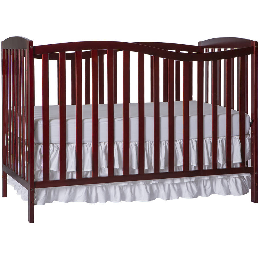 Dream On Me Chelsea 5-in-1 Convertible Crib Cherry