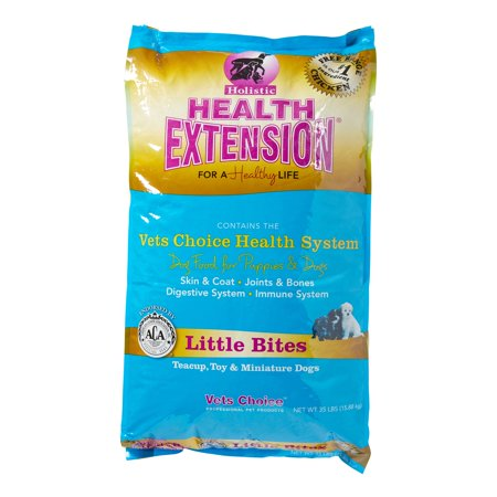 Holistic Health Extension Chicken Little Bites Dry Dog Food 35 Lb