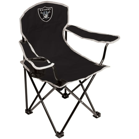 Tailgate Chain - NFL Oakland Raiders Youth Size Tailgate Chair from Coleman by Rawlings