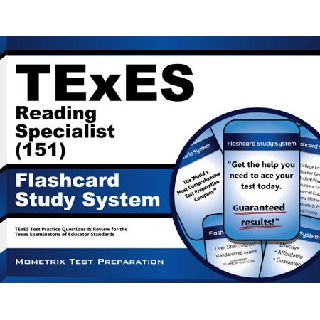 TExES Reading Specialist (151) Flashcard Study System: TExES Test Practice Questions & Review for the Texas Examinations of Educator Standards