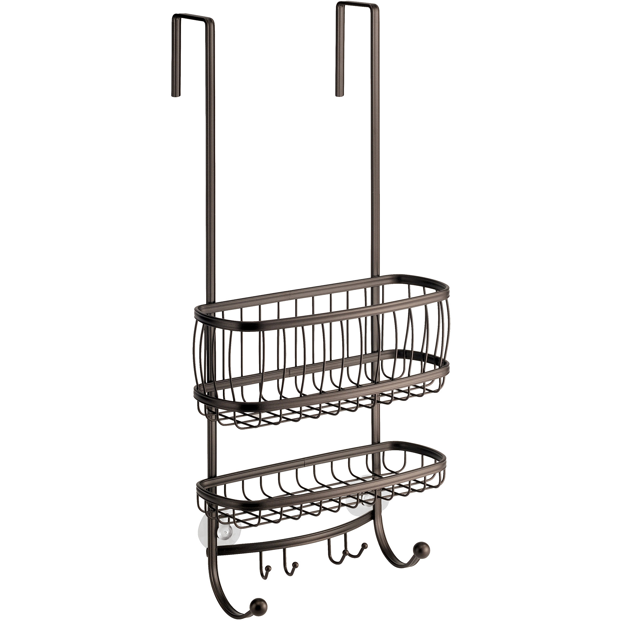 InterDesign York Over-the-Shower Door Shower Caddy - Walmart.com