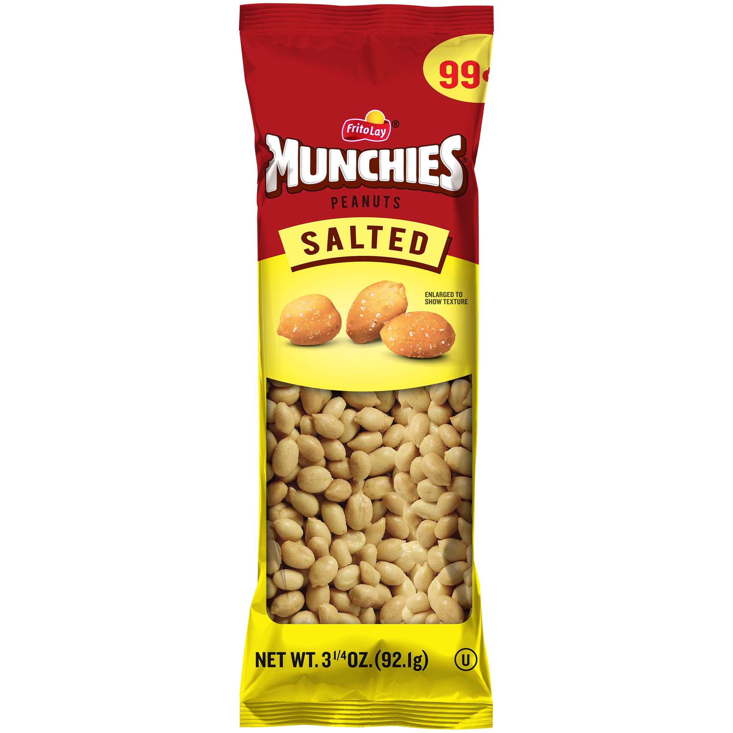 Munchies Salted Peanuts 3.25 Ounces