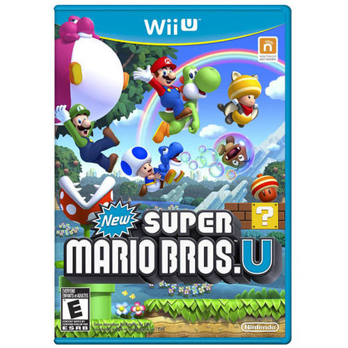 New Super Mario Bros U (Wii U) - Pre-Owned