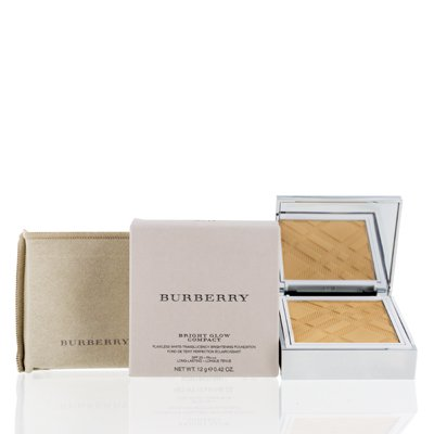 BURBERRY/BRIGHT GLOW FLAWLESS BRIGHT COMPACT FOUNDATION #20 OCHRE 0.42 OZ 12 ML