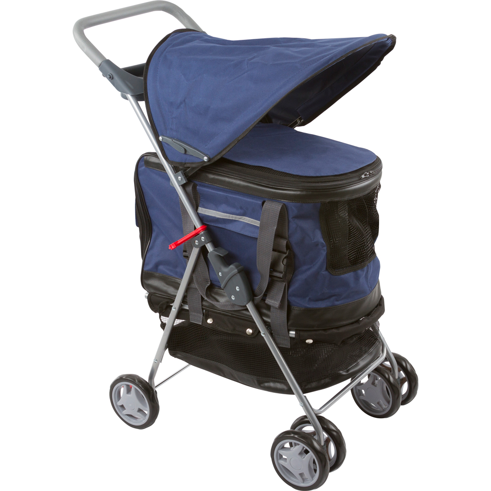 Pet Stroller, Carrier and Car Seat All-in-One